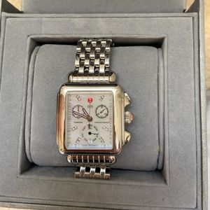 Michele Deco Stainless Steel Watch mw06p00a0046